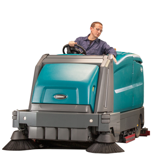 Industrial size Sweeper-Scrubbers