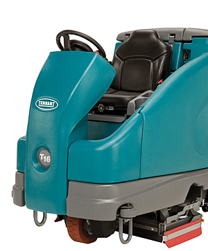 Tennant T16 Battery-Powered Rider Scrubber