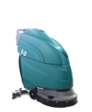 walk behind floor scrubbers - tennant company - small compact