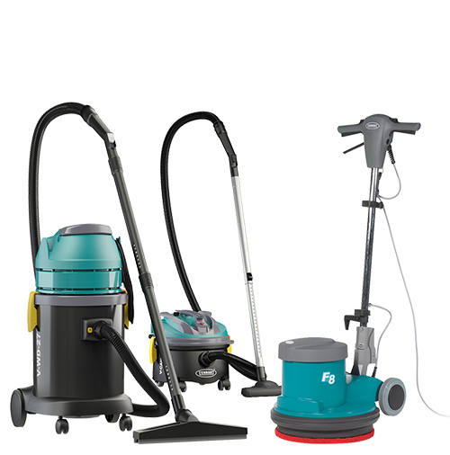 Essentials, Vacuums, Burnishers, Single Disc machines, Carpet Extractors