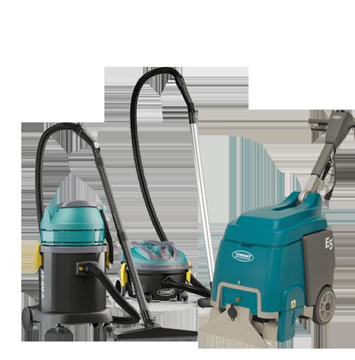 Essentials, Vacuums, Burnishers, Single Disc machines, Carpet Extractors