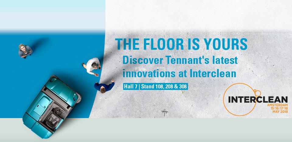 Visit Tennant at Interclean 2018