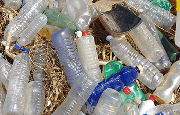 plastic bottles waste